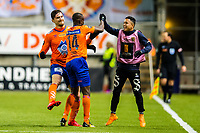 Fotball , 5 November 2017 , Eliteserien , Aalesund - Rosenborg , Edwin Gyasi og Marlon Mateus Da Silva ( Marlinho ) feirer seiersmålet <br /> <br /> <br />  , Foto: Marius Simensen, Digitalsport