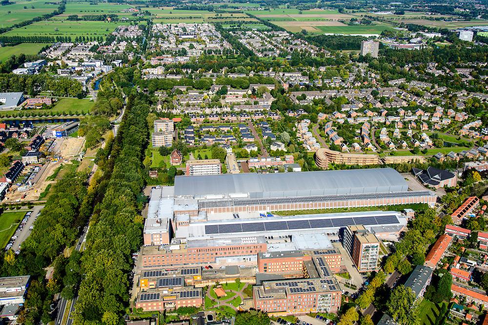 Nederland, Gelderland, Wageningen, 30-09-2015; Maritiem Research Instituut Nederland (MARIN). Onderzoekscentrum<br /> naar hydrodynamica en maritieme technologie.<br /> Research institute for hydrodynamics and maritime technology.<br /> luchtfoto (toeslag op standard tarieven);<br /> aerial photo (additional fee required);<br /> copyright foto/photo Siebe Swart