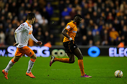 Wolves Midfielder Bakary Sako (FRA) in action during the second half of the match - Photo mandatory by-line: Rogan Thomson/JMP - Tel: Mobile: 07966 386802 26/01/2013 - SPORT - FOOTBALL - Molineux Stadium - Wolverhampton. Wolverhampton Wonderers v Blackpool - npower Championship.