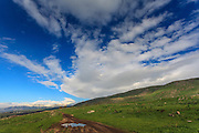 Israel, Golan Heights Landscape. Photographed in Nahal Orvim (Orvim Stream) Nature reserve
