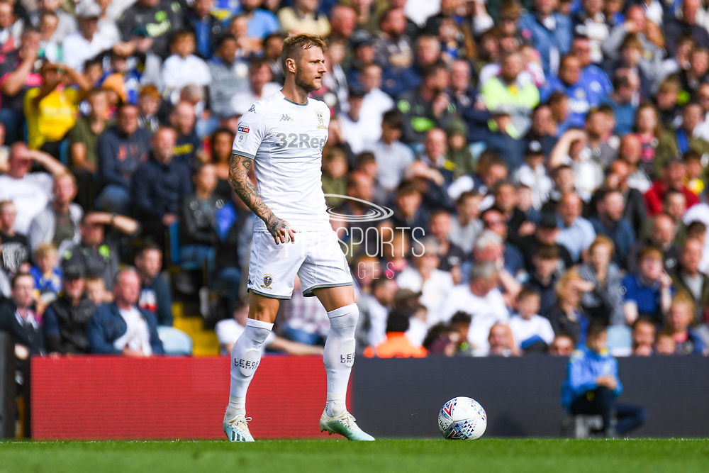 Leeds United defender Liam Cooper (6) during the EFL Sky Bet Championship match between Leeds United and Swansea City at Elland Road, Leeds, England on 31 August 2019.