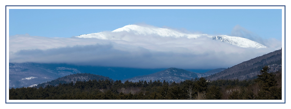 Mount Washington viewed from Cranmore February 11, 2010.