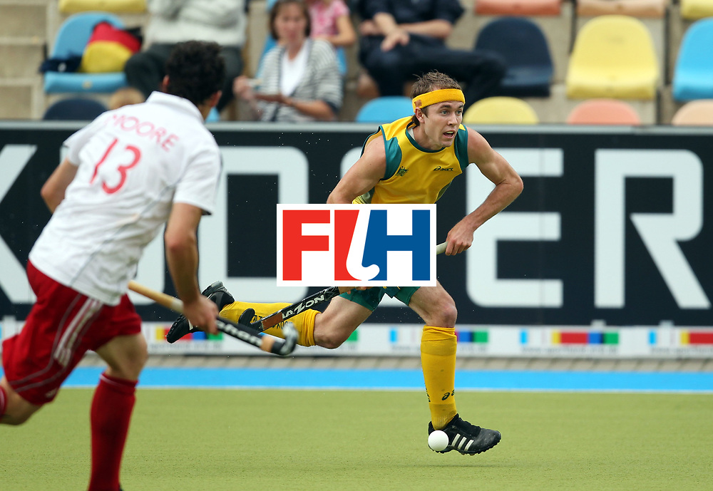 Mens Champions Trophy, Monchengladbach, Germany, 2010<br /> Day 6, 8/8/10, Mens Final, Australia v England<br /> Matthew Swann<br /> <br /> Credit: Grant Treeby<br /> <br /> Editorial use only (No Archiving) Unless previously arranged