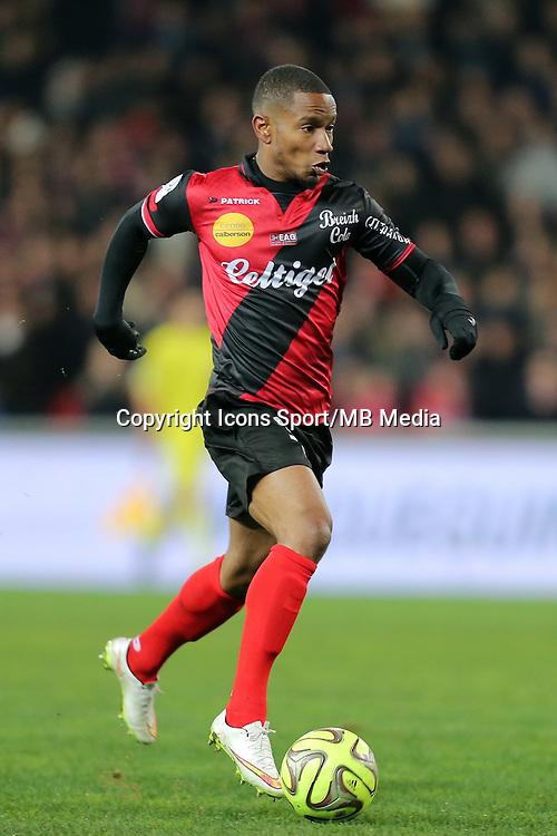 Claudio BEAUVUE  - 24.01.2015 - Guingamp / Lorient - 22eme journee de Ligue1<br />Photo : Vincent Michel / Icon Sport *** Local Caption ***