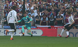 May 26, 2018 - London, Greater London, United Kingdom - Fulham's Tom Cairney scores his sides first goal  .during the Championship Play-Off Final match between Fulham and Aston Villa at Wembley, London, England on 26 May 2018. (Credit Image: © Kieran Galvin/NurPhoto via ZUMA Press)