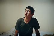 [English]  Ahmad-zia is 14. He fled war, poverty and ethnic conflicts. Life-expectancy in Afghanistan currently is 44 years. Like thousands of young Afghans, he arrived in France by himself after a trip of several months.<br /> <br /> [Francais] Ahmad-Zia a 14 ans. Il a fui la guerre, la pauvrete, les conflits ethniques. Comme des milliers de jeunes afghans, il est arrive en Europe seul, avec comme seul bagage un sac plastique, laissant ses proches et sa famille a 5000 km de la. isol&eacute;.La France n'est pas sa destination finale, il quittera Paris deux semaines apres son arrivee pour tenter sa chance plus au nord. En Angleterre, le travail illegal semble plus facile. Dans les pays scandinaves, les conditions d'accueil semblent plus favorables. En France, l'avenir est trop incertain.