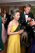 QUEENIE STRICKLAND, The Royal Caledonian Ball 2011. In aid of the Royal Caledonian Ball Trust. Grosvenor House. London. W1. 13 May 2011.<br /> <br />  , -DO NOT ARCHIVE-© Copyright Photograph by Dafydd Jones. 248 Clapham Rd. London SW9 0PZ. Tel 0207 820 0771. www.dafjones.com.