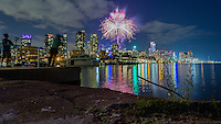 http://Duncan.co/toronto-2015/ http://Duncan.co/Toronto-2015<br /> <br /> Here are a couple photos from the fireworks at the Opening Ceremonies of the Toronto 2015 Pan Am Games.<br /> <br /> I was playing around with a different technique and ended up not exposing properly here. Oh well. Such is life!