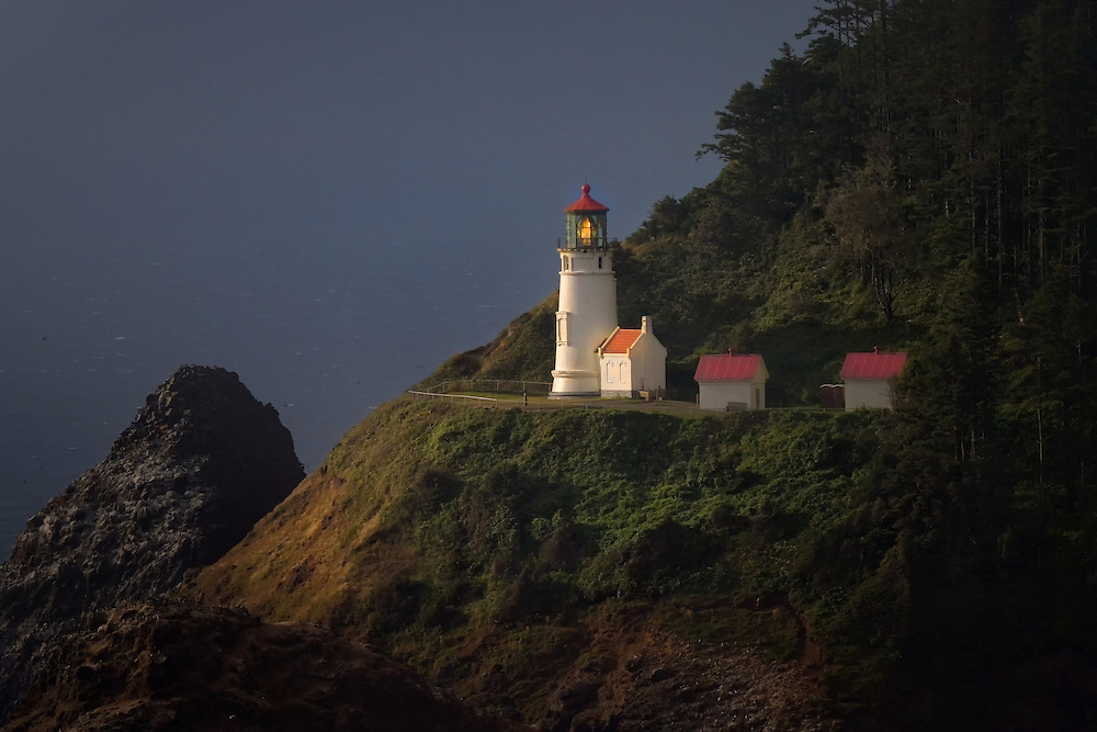 Heceta Head Lighthouse, US 101, North of Florence, OR