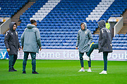 Leeds United midfielder Kalvin Phillips (23) and Leeds United defender Ben White (5) arrive at the ground during the EFL Sky Bet Championship match between Sheffield Wednesday and Leeds United at Hillsborough, Sheffield, England on 26 October 2019.