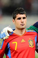 FOOTBALL - UNDER 21 - FRIENDLY GAME - FRANCE v SPAIN - 24/03/2011 - PHOTO GUILLAUME RAMON / DPPI - FRANSISCO MERIDA (SPA)