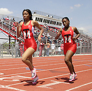 Trotwood-Madison had two runners competing in the Girls 800 Meter Run during the Buff Taylor Memorial Track & Field Invitational at the Good Samaritan Sports Plex at Trotwood Madison High School, Saturday, May 10, 2008.