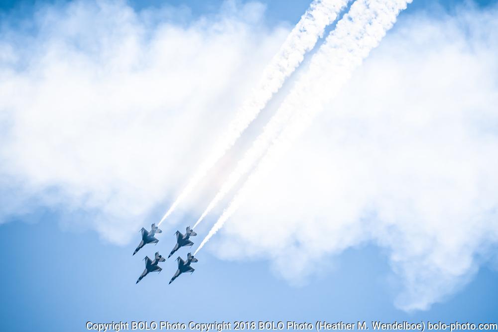 Thunderbirds Air Show<br /> Cheyenne Frontier Days<br /> 25 Jul 18<br /> Cheyenne, Wyoming