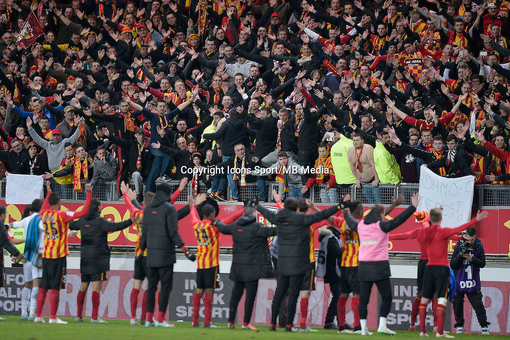 Supporters Lens - 19.12.2014 - Lens / Nice - 19e journee Ligue 1<br />