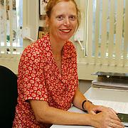 Cultureel antropoloog Marianne Mensinga AZC Crailo Laren
