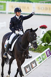 Marc Boblet, (FRA), Noble Dream Concept Sol - Grand Prix Special Dressage - Alltech FEI World Equestrian Games™ 2014 - Normandy, France.<br /> © Hippo Foto Team - Leanjo de Koster<br /> 25/06/14