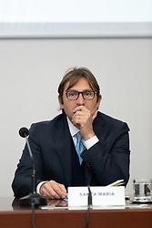 ANTONIO SANTA MARIA<br /> CONFERENZA STAMPA DI PRESENTAZIONE DELLA FINALE SCUDETTO DI PALLAVOLO FEMMINILE A1 IN GARA UNICA A TRIESTE IL 9 MAGGIO 2020<br /> TRIESTE 15-01-2020<br /> FOTO FILIPPO RUBIN / LVF