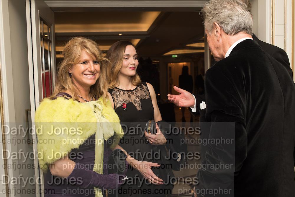 Lawney Hill; Victoria Pendleton, Cartier 25th Racing Awards, the Dorchester. Park Lane, London. 10 November 2015