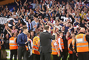 Dundee managing director John Nelms applauds the travelling support - Crystal Palace v Dundee - Julian Speroni testimonial match at Selhurst Park<br /> <br />  - © David Young - www.davidyoungphoto.co.uk - email: davidyoungphoto@gmail.com