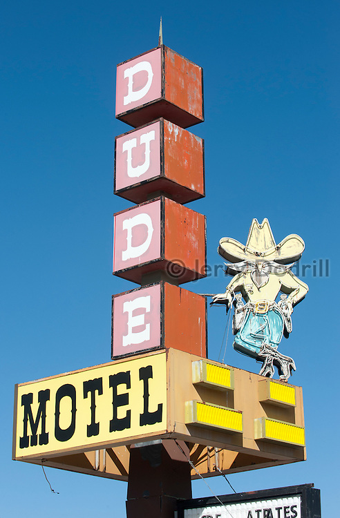 Dude Motel, West Yellowstone, Montana