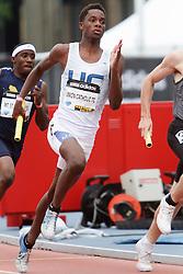 Samsung Diamond League adidas Grand Prix track & field; 4x400 meter relay Junior boys, Union Catholic TC