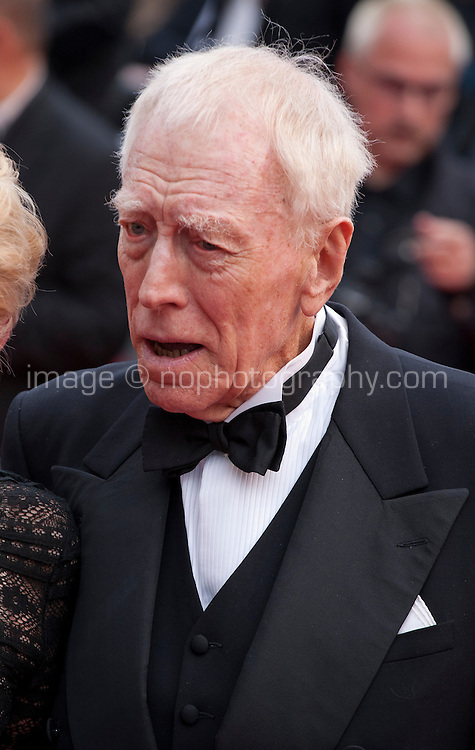 Actor Max Von Sydow at the gala screening for the film The BFG at the 69th Cannes Film Festival, Saturday 14th May 2016, Cannes, France. Photography: Doreen Kennedy