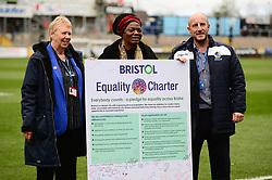 Bristol Equality Charter - Mandatory by-line: Dougie Allward/JMP - 07/12/2019 - FOOTBALL - Memorial Stadium - Bristol, England - Bristol Rovers v Southend United - Sky Bet League One