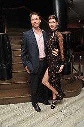 MARGO STILLEY and BRUCE CUMMINGS at the second night of the Tomodachi (Friends) Charity Dinners hosted by Chef Nobu Matsuhisa in aid of the Japanese committee for UNICEF held at Nobu Berkeley, Berkeley Street, London on 5th May 2011.