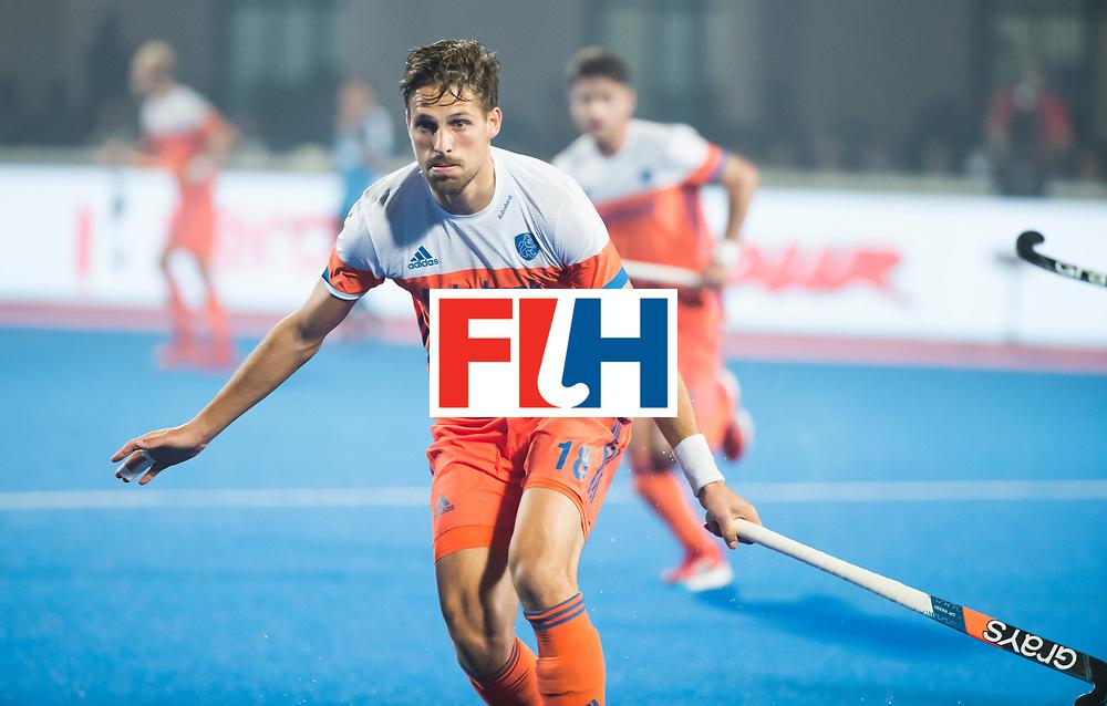 BHUBANESWAR - Bjorn Kellerman (Ned)  tijdens de Hockey World League Final wedstrijd Nederland-Argentinie. . COPYRIGHT  KOEN SUYK