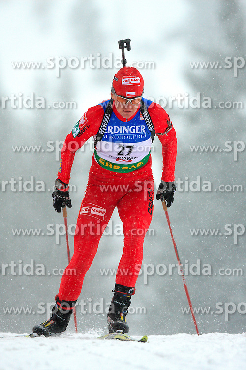 Magdalena Gwizdon (POL) at Women 15 km Individual at E.ON Ruhrgas IBU World Cup Biathlon in Hochfilzen (replacement Pokljuka), on December 18, 2008, in Hochfilzen, Austria. (Photo by Vid Ponikvar / Sportida)