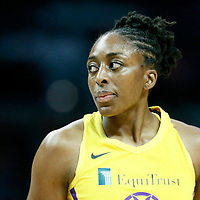 LOS ANGELES, CA - JUN 30: Nneka Ogwumike (30) of the Los Angeles Sparks is seen during a game on June 30, 2019 at the Staples Center, in Los Angeles, California.