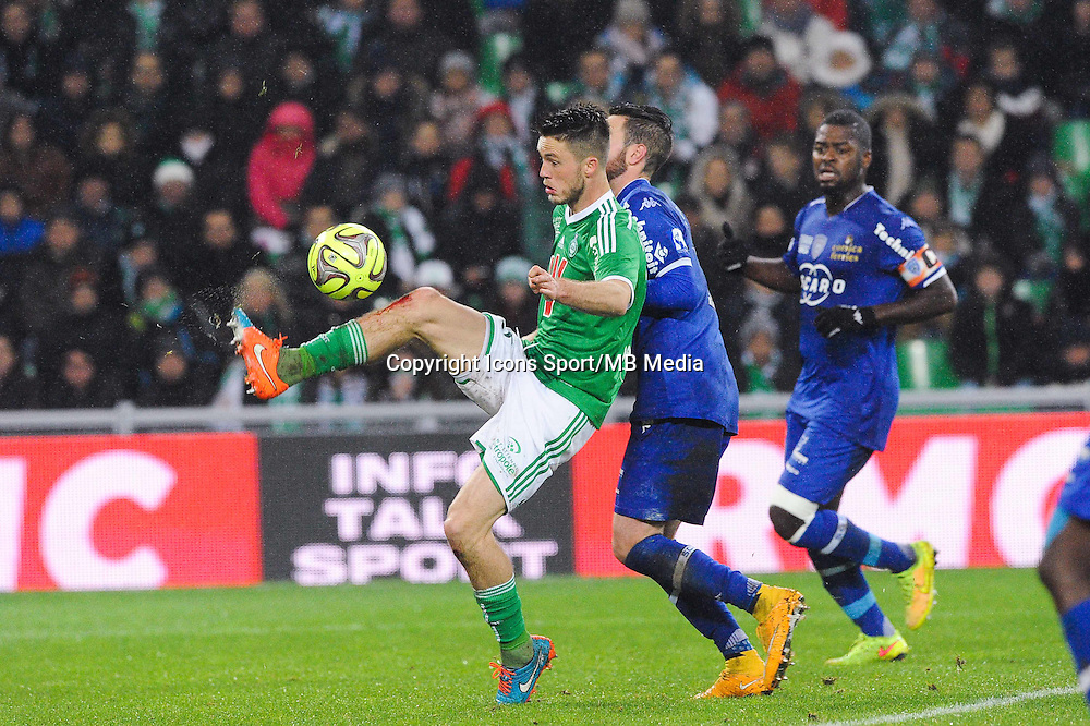 Ricky VAN WOLFSWINKEL - 05.12.2014 - Saint Etienne / Bastia - 17eme journee de Ligue 1 -<br />Photo : Jean Paul Thomas / Icon Sport