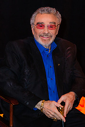 July 16, 2018 - Florida, U.S. - Legendary actor Burt Reynolds is all smiles for the media while waiting backstage at the 2018 Palm Beach Film Festival Student Showcase of Film. The festival was held at the Wold Theater on the Lynn University Campus in Boca Raton on Friday, April 6, 2018. (Credit Image: © Handout/The Palm Beach Post via ZUMA Wire)