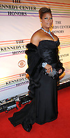 Queen Latifah attends the 31st annual Kennedy Center Honors, at the John F Kennedy Center for the Performing Arts in Washington, DC on December 07, 2008
