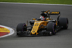 August 27, 2017 - Francorchamps, Belgium - NICO HULKENBERG of Germany and Renault Sport F1 Team drives during the 2017 Formula 1 Belgian Grand Prix in Francorchamps, Belgium. (Credit Image: © James Gasperotti via ZUMA Wire)
