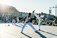 Capoeira in Bordeaux, France