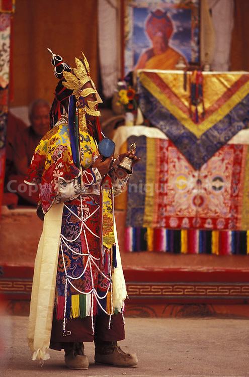 La fete du monastere de Tak Tok a lieu chaque annee en aout. Tak Tok Monastery festival is taking place every year in august.