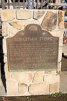 Sebastian's Store California Historical Landmark Marker 726, San Simeon, California