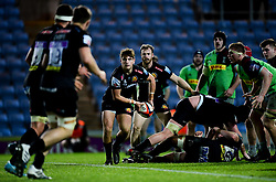 Sam Maunder of Exeter Chiefs - Mandatory by-line: Ryan Hiscott/JMP - 25/11/2019 - RUGBY - Sandy Park - Exeter, England - Exeter Braves v Harlequins - Premiership Rugby Shield