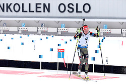 06.03.2016, Holmenkollen, Oslo, NOR, IBU Weltmeisterschaft Biathlion, Oslo, Verfolgung, Damen, im Bild dahlmeier laura (ger) // during Womens pursuit Race of the IBU World Championships, Oslo 2016 at the Holmenkollen in Oslo, Norway on 2016/03/06. EXPA Pictures © 2016, PhotoCredit: EXPA/ Pressesports/ MONS FREDERIC<br /> <br /> *****ATTENTION - for AUT, SLO, CRO, SRB, BIH, MAZ, POL only*****