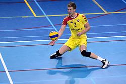 04-12-2013 VOLLEYBAL: DRAISMA DYNAMO - LANDSTEDE VOLLEYBAL: APELDOORN<br /> Dynamo pakt een 3-1 winst op Landstede Zwolle / Jord Berthouwer<br /> &copy;2013-FotoHoogendoorn.nl