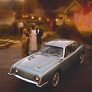 1963 Studebaker Avanti publicity image.