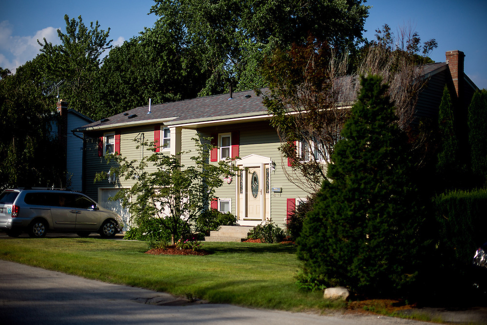 CRANSTON, RI - JULY  6, 2016: General views of the home at 15 Eileen Ave. in Cranston, Rhode Island. CREDIT: Sam Hodgson for The New York Times.