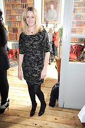 EDITH BOWMAN at a party to celebrate the 1st anniversary of Alice Temperley's label held at Paradise, Kensal Green, London W10 on 25th November 2010.