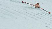 Munich, GERMANY.  USA M4-, Bow. Giuseppe LANZONE, Brett NEWLIN, Henrik RUMMEL and Josh INMAN.   2010 FISA World Cup. Olympic Rowing Course, Munich.  Friday  18/06/2010   [Mandatory Credit Peter Spurrier/ Intersport Images]