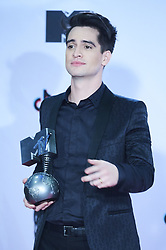 November 4, 2018 - Madrid, Madrid, Spain - Panic at the disco poses in the press room during the 25th MTV EMAs 2018 held at Bilbao Exhibition Centre 'BEC' on November 5, 2018 in Madrid, Spain (Credit Image: © Jack Abuin/ZUMA Wire)