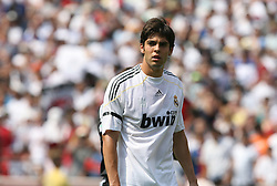 09 August 2009: Real Madrid's Kaka (BRA). Real Madrid of Spain's La Liga defeated DC United of Major League Soccer 3-0 at FedEx Field in Landover, Maryland in an international club friendly soccer match.