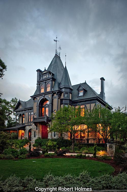 The Rhine House, Beringer Vineyards, St. Helena, Napa Valley