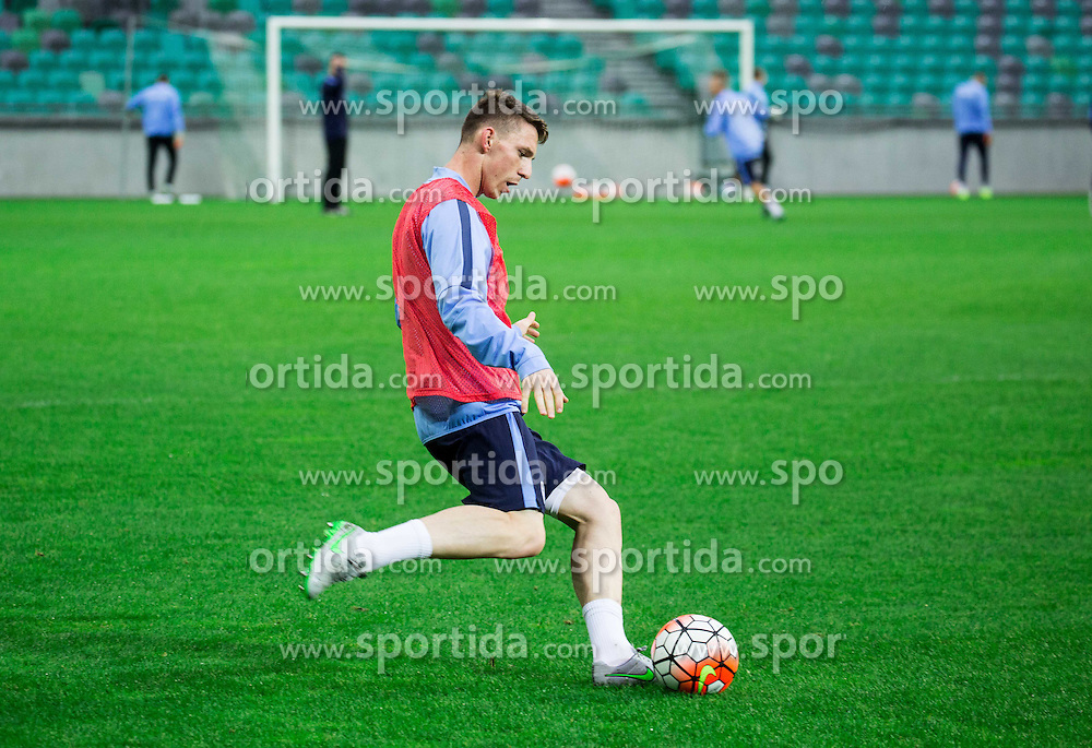 Rajko Rotman during practice session of Slovenian National Football team two days before Euro 2016 Qualifying game between Slovenia and Lithuania, on October 7, 2015 in SRC Stozice, Ljubljana Slovenia. Photo by Vid Ponikvar / Sportida