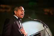 President Roderick McDavis speaks during the Promise Lives Campaign Celebration Gala on Friday, Sept. 11, 2015. Photo by Kaitlin Owens